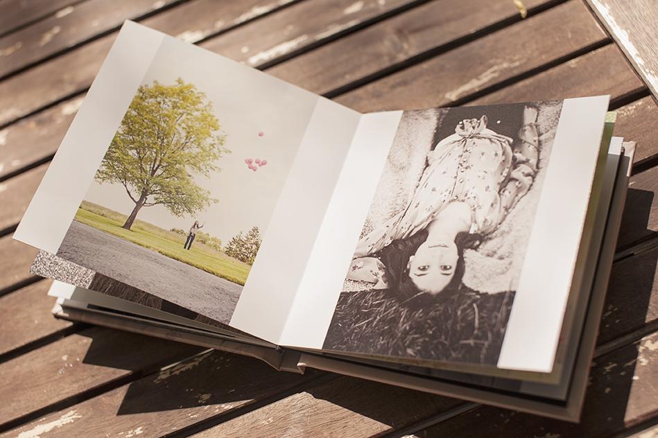 Senior picture album by Kimi Photography