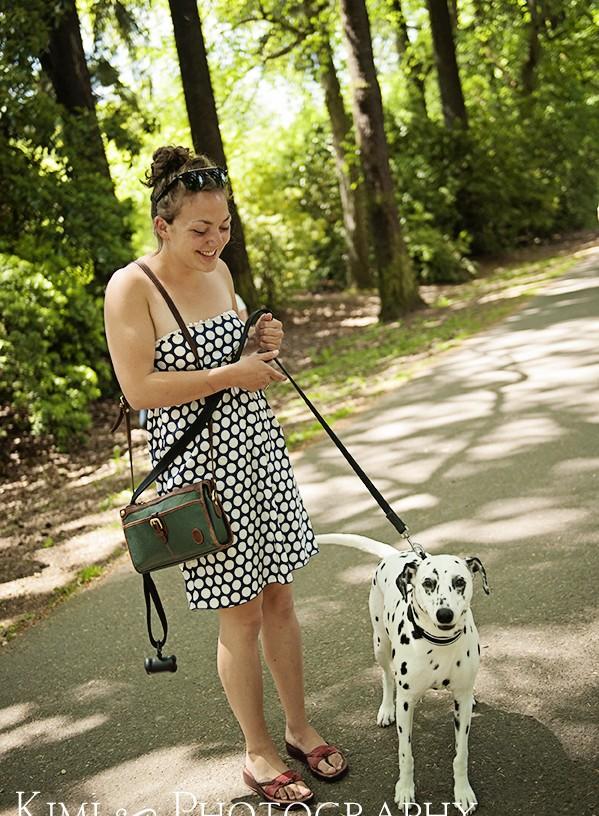 Laurelhurst Park with dog